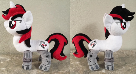 Blackjack Plush for BronyCon Charity Auction by The-Crafty-Kaiju