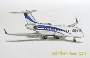 Carla the Private Jet by A320TheAirliner