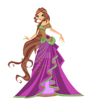 CP: Terra Ball Gown by dsdsdsdddd