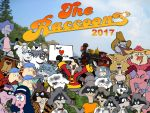 The Raccoons 2017 Poster by PUFFINSTUDIOS