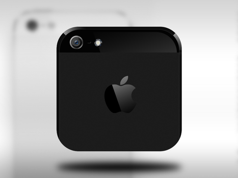 iPhone 5 iOS icon by nepst3r