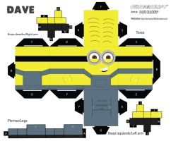 cubeecraft minion Dave by Donmanny1696