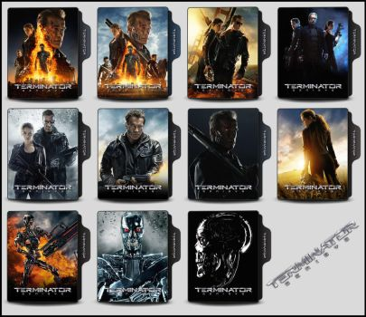 Terminator - Genisys (2015) Folder Icons by OnlyStyleMatters