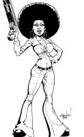 Pam Grier as Coffey by ShawnAtkinson