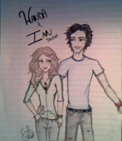 Wanda and Ian---colored by VampireeChick