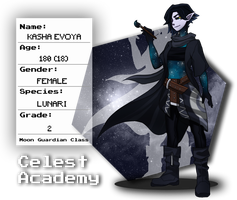 Celest Academy: The Lone Wolf by Sharkiey