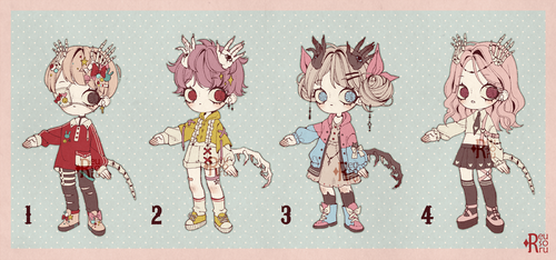{CLOSED} Adoptable Set Price 08 by Reusoru