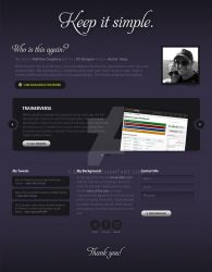 UXDoneRight.com Design 1 by matteo