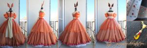 Princess Flareon - gijinka Pokemon eeveelution by giusynuno
