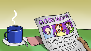 Drawing Good News for Video Day 206 by LineDetail