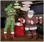 Christmas muscle - A Tale of Empowerment by yatz