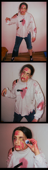 Zombie Costume Halloween 2017 by SpookyMuffin4545