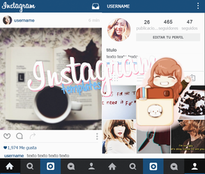 Instagram Template's by Porcelain by ItsPorcelain