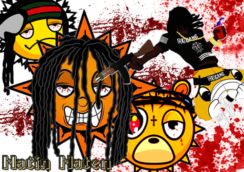 Chief Keef - Hatin Haten by freshables