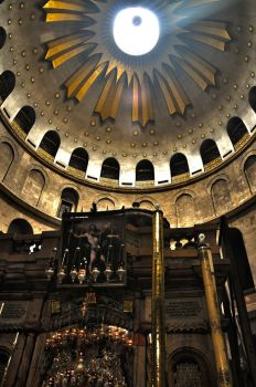 Jerusalem - The Holy Sepulcher (HDR) by echomrg
