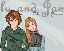 Lily and James by Nar-Amarth