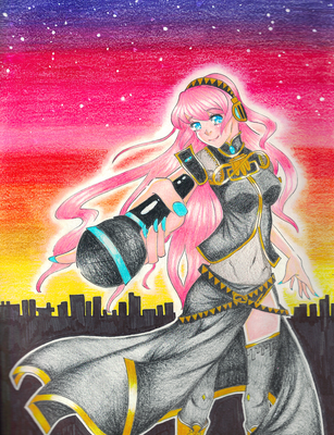 Luka's Sunset by noodle-doodler
