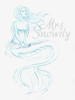 Blue Sketch by MrsSnowily