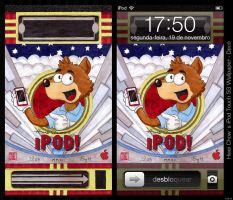 iPod Touch 5G 2012 Wallpaper by HweiChow