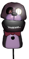 Puppet Costume Bonnie From FNaF3 by 133alexander