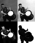Taiko Drummer by NullCoding
