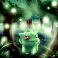 Bulbasaur by Vermeilbird