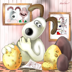 The  Easter's gift-cheese by altergromit