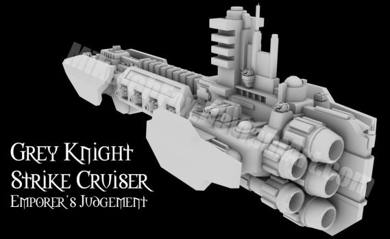 GK Strike Cruiser WIP 03 by MikeTehFox