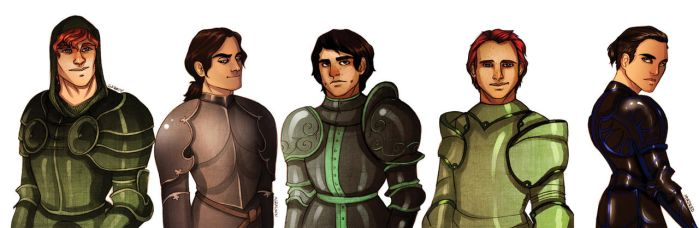 Some knights by Enife
