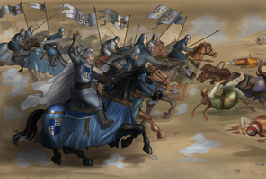 Battle of Azaz by Autumn-Sacura