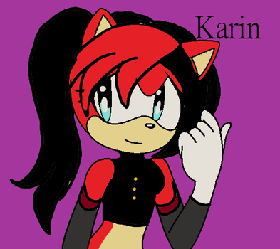Karin (birthday gift) by SunshineCat2