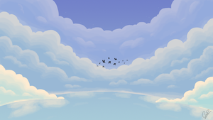 Cloudy Sky by Chander-Fox