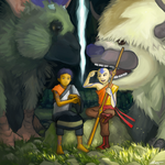 The Last Guardian x The Last Airbender Crossover by FazeButler