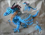 Beaded Dawgjr by Dragarta