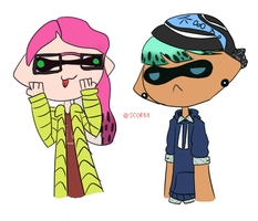 Squid Bois by SC0RM