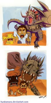 Me in the Digimon world by hyakamaru
