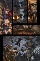 WoW Curse of the Worgen 4 pg08 by Tonywash