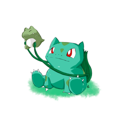 Bulbasaur Pokedex Challenger Chile Redux by PyO-Illustrations