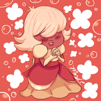 Padparadscha (last comission example!) by BloodyDarkSanity