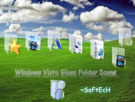 Vista Glass Folder Icons by sahtel08