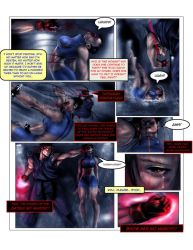 Evil ryu vs chun li pg 4 by Tree-ink