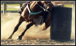 Barrel Racing by eclipes12