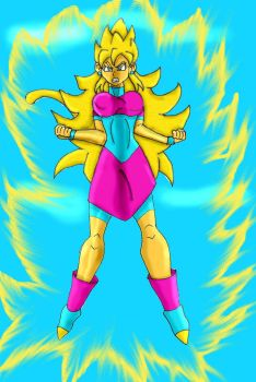 Super Saiyan Jagaimo - Power by SSJGarfield