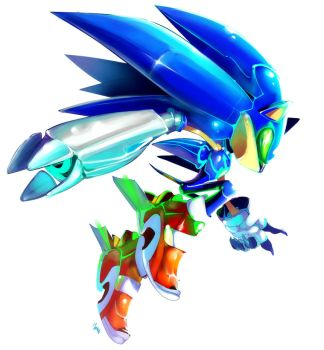 Mecha-Sonic sort of by EVMousser