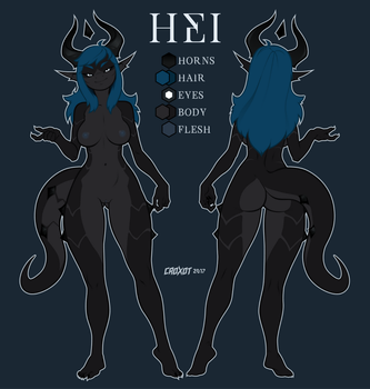 Hei Ref Sheet by Croxot