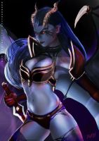 DotA 2  Queen of Pain by Kevin-Glint