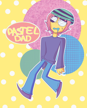 Pastel Dad (aesthetic generator) by PixPrix3000