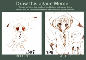 Before and After Meme by Kimqi