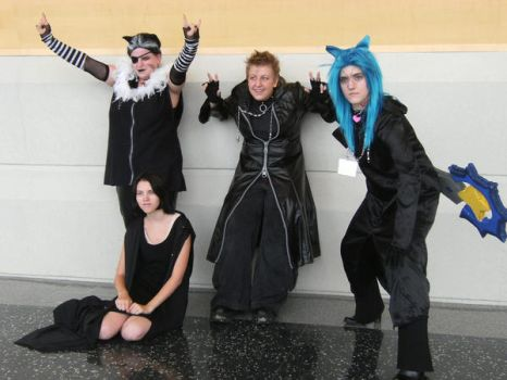 The Organization at Ikasucon by SpellboundFox