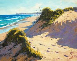 The Entrance Dunes by artsaus
